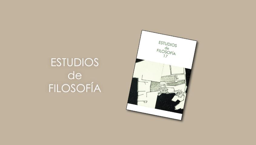 Nueva publicación: Volumen 17 de la revista Estudios de Filosofía