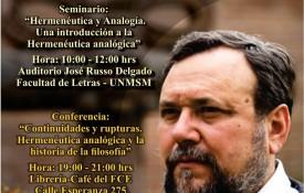 Mauricio Beuchot en Lima