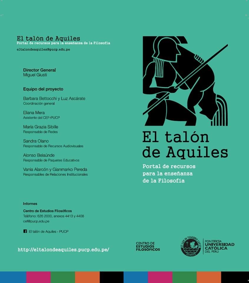 Presentación del portal web El Talón de Aquiles y mesa redonda sobre Filosofía Política en la Universidad Nacional Jorge Basadre Grohmann (Tacna)