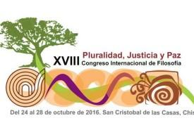 """XVIII Congreso Internacional de Filosofía: """"Pluralidad, justicia y paz"""""""