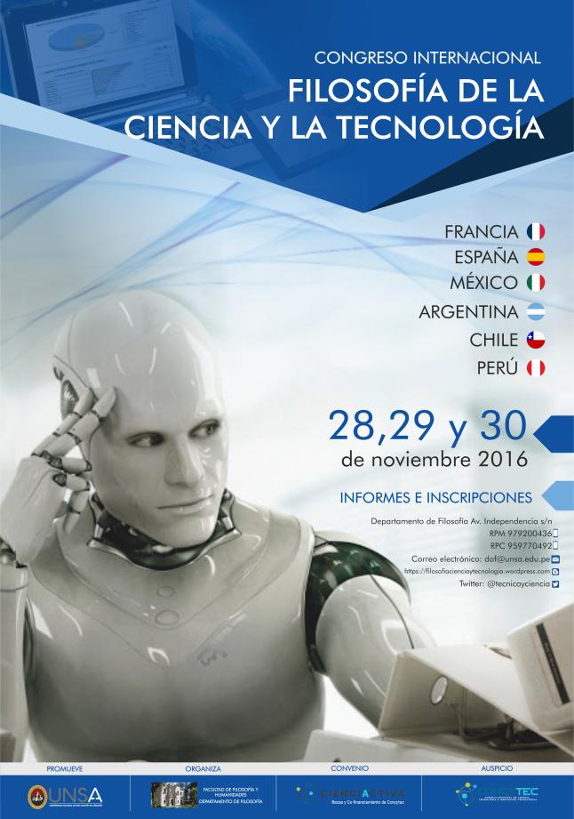 Congreso Internacional de Filosofía de la Ciencia y Tecnología