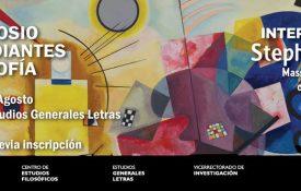 XIII Simposio de Estudiantes de Filosofía PUCP 22/08 – 25/08