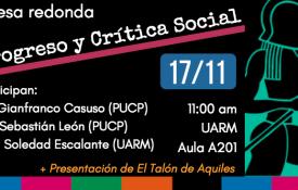 """Mesa """"Progreso y crítica social"""" y presentación de El Talón en la UARM"""