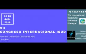 """XII Congreso mundial de ISUD: """"La filosofía en una época de crisis: desafíos y perspectivas"""""""