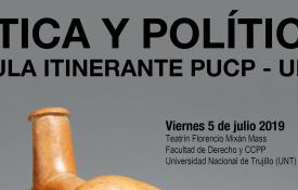 """Aula itinerante PUCP-UNT: """"Ética y política"""""""