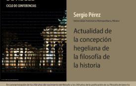 [Conferencia sobre Hegel] Actualidad de la concepción hegeliana de la filosofía de la historia