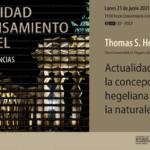 [Conferencia sobre Hegel] Actualidad de la concepción hegeliana de la naturaleza